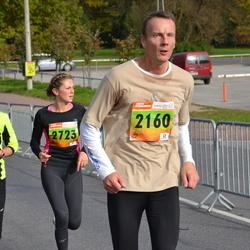 3. Tartu Linnamaraton/Sügisjooks - Ants Animägi (2160), Brigita Murutar (2723)
