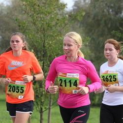 3. Tartu Linnamaraton/Sügisjooks - Brita Sander (2055), Kaja Vaagen (2114), Hanna-Liisa Mölder (2625)