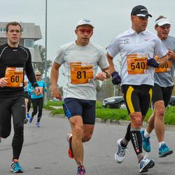3. Tartu Linnamaraton/Sügisjooks - Meelis Koskaru (60), Andre Abner (81), Margus Püvi (540)