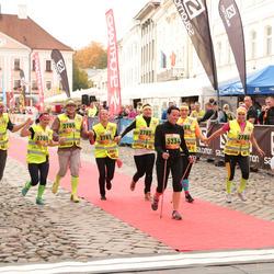 3. Tartu Linnamaraton/Sügisjooks - Maie Pavljuk (2781), Reilika Kõrkjas (2784), Ago Koppel (2786), Aune Tamm (5234)