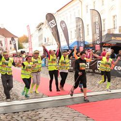 3. Tartu Linnamaraton/Sügisjooks - Ireen Reier (2780), Maie Pavljuk (2781), Külli Must (2783), Reilika Kõrkjas (2784), Heiki Küla (2785), Ago Koppel (2786), Aune Tamm (5234)