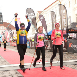 3. Tartu Linnamaraton/Sügisjooks - Kaja Filatenko (5025), Berit Kroon (5077), Hanno Kroon (5078)
