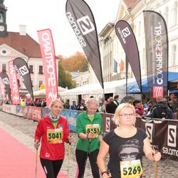 3. Tartu Linnamaraton/Sügisjooks - Cristel Jakobson (5041), Anu Nigol (5151), Ariane Vomm (5269)