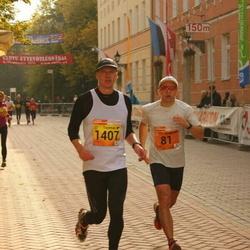 3. Tartu Linnamaraton/Sügisjooks - Andre Abner (81), Toomas Greenbaum (1407)