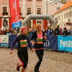 3. Tartu Linnamaraton/Sügisjooks - Anneli Tomson (2339), Sandra Kirs (2340)