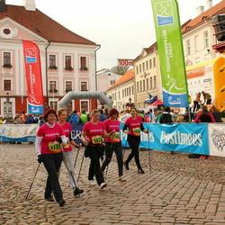 3. Tartu Linnamaraton/Sügisjooks - Pille Augla (5015), Annika Esula (5024), Kaidi Mark (5132), Kairi Pard (5166)
