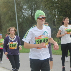 3. Tartu Linnamaraton/Sügisjooks - Eve Parts (2461), Anni-Mari Pehlak (2814), Mihkel Känd (2849)
