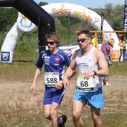 41. jooks ümber Harku järve - Andre Abner (68), Mark Abner (588)