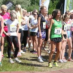41. jooks ümber Harku järve - Olga Andrejeva (29), Annika Vaher (116), Ly Sillanurm (221), Kadri Jägel (276)