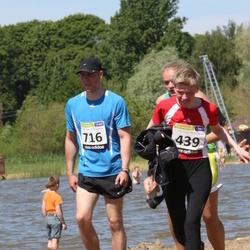 41. jooks ümber Harku järve - Signe Saar (439), Aalo Parmas (816)