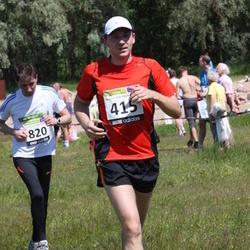 41. jooks ümber Harku järve - Ove Trofimov (415), Ago Pelisaar (820)
