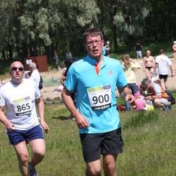 41. jooks ümber Harku järve - Roomand Saar (865), Janek Taaler (900)