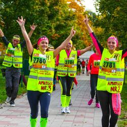 3. Tartu Linnamaraton/Sügisjooks - Ireen Reier (2780), Maie Pavljuk (2781), Reilika Kõrkjas (2784), Ago Koppel (2786)