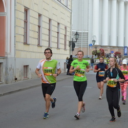 3. Tartu Linnamaraton/Sügisjooks - Anneliis Kilk (2069), Laura Ilves (2528), Oskar Kilk (2898)