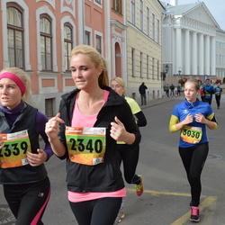 3. Tartu Linnamaraton/Sügisjooks - Anneli Tomson (2339), Sandra Kirs (2340), Kristel Uibomaa (3030)
