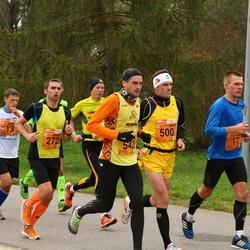 3. Tartu Linnamaraton/Sügisjooks - Taavi Raudsaar (17), Kaido Vahkal (272), Ain Veemees (500), Andis Geste (542)