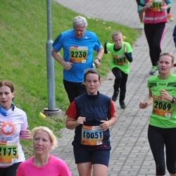 3. Tartu Linnamaraton/Sügisjooks - Jaan Reinson (2230), Anna Walentowitz (10051)