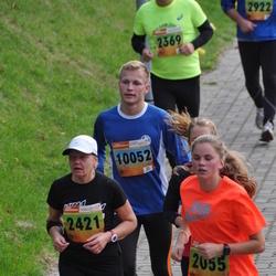 3. Tartu Linnamaraton/Sügisjooks - Brita Sander (2055), Katrin Kirsimäe (2421), Evert Rööpson (10052)