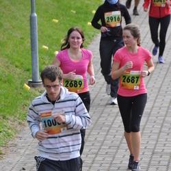 3. Tartu Linnamaraton/Sügisjooks - Jarlin Hollo (2687), Raili Hollo (2689), Artjom Berholts (10005)