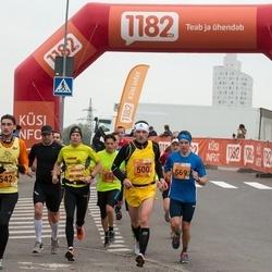 3. Tartu Linnamaraton/Sügisjooks - Hannes Veide (21), Ain Veemees (500), Andis Geste (542), Kristo Tuvi (569)
