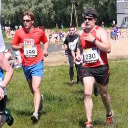 41. jooks ümber Harku järve - Rain Pelapson (199), Aalo Kukk (230)