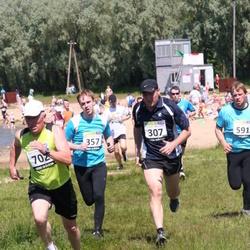 41. jooks ümber Harku järve - Arnold Kannike (307), Toomas Vaks (357), Ingvar Allekand (591), Tiit Kivisild (702)