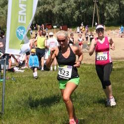 41. jooks ümber Harku järve - Marika Koplimägi (476), Birgit Erik (623)