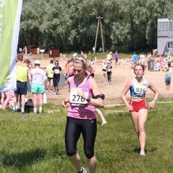 41. jooks ümber Harku järve - Kadri Jägel (276), Elizabeth Truve (926)