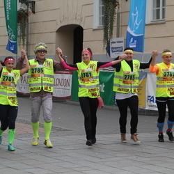 3. Tartu Linnamaraton/Sügisjooks - Ireen Reier (2780), Maie Pavljuk (2781), Marin Rattik (2782), Külli Must (2783), Reilika Kõrkjas (2784), Heiki Küla (2785), Ago Koppel (2786), Aune Tamm (5234)