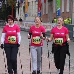 3. Tartu Linnamaraton/Sügisjooks - Pille Augla (5015), Annika Esula (5024), Kaidi Mark (5132)