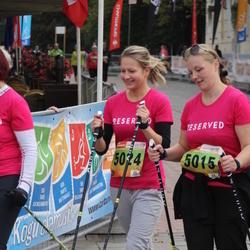 3. Tartu Linnamaraton/Sügisjooks - Pille Augla (5015), Annika Esula (5024)