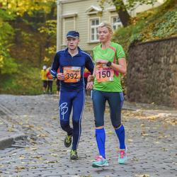3. Tartu Linnamaraton/Sügisjooks - Anneli Tühis (150), Ahti Bleive (392)