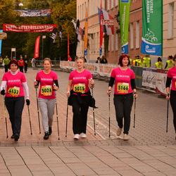 3. Tartu Linnamaraton/Sügisjooks - Pille Augla (5015), Annika Esula (5024), Kaidi Mark (5132), Kairi Pard (5166), Maiu Torbek (5254)