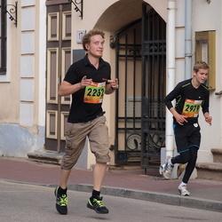 3. Tartu Linnamaraton/Sügisjooks - Martin Tsopp (2232), Carl-Hans Sammel (2979)