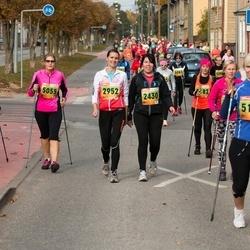 3. Tartu Linnamaraton/Sügisjooks - Sirle Pung (2430), Nele Roosipuu (2952), Anne-Lii Kaldvee (5055), Annika Põlgast (5178)