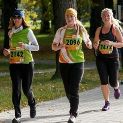 3. Tartu Linnamaraton/Sügisjooks - Amanda Väiko (2096), Jana Stets (2142), Merit Hirvoja-Tamm (2472)