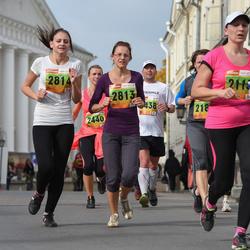 3. Tartu Linnamaraton/Sügisjooks - Anna-Liisa Pehlak (2813), Anni-Mari Pehlak (2814)