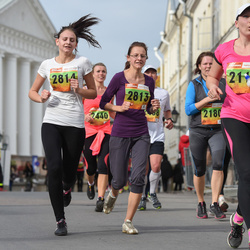 3. Tartu Linnamaraton/Sügisjooks - Ele Sokolov (2115), Anna-Liisa Pehlak (2813), Anni-Mari Pehlak (2814)