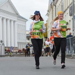 3. Tartu Linnamaraton/Sügisjooks - Amanda Väiko (2096), Jana Stets (2142)