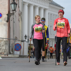 3. Tartu Linnamaraton/Sügisjooks - Kaja Filatenko (5025), Berit Kroon (5077)