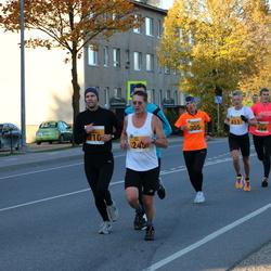 41. Saaremaa Kolme Päeva Jooks - Anastasija Zaharova (305), Alari Lumberg (310), Imre Saar (451)