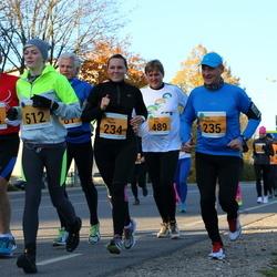 41. Saaremaa Kolme Päeva Jooks - Triin Pärna (234), Ivo Mölder (235), Bruno Münter (414), Priit Tiks (489), Elizabeth Truu (512)