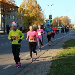 41. Saaremaa Kolme Päeva Jooks - Tiina Mattiisen (43), Age Jakobson (349)