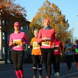 41. Saaremaa Kolme Päeva Jooks - Agne Väljaots (106), Elo Piirmaa (445)
