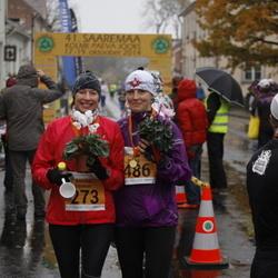 41. Saaremaa Kolme Päeva Jooks - Annika Veimer (273), Signe Haug (486)
