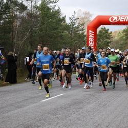 41. Saaremaa Kolme Päeva Jooks - Mark Abner (101), Rait Ratasepp (108), Ago Veilberg (179), Kaupo Sasmin (340)