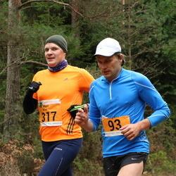41. Saaremaa Kolme Päeva Jooks - Andre Nõmm (93), Mart Kivi (317)