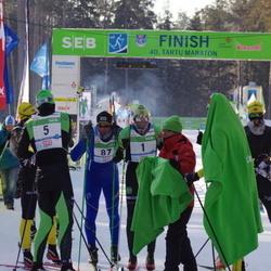 40. Tartu Maraton - Anders Aukland (1), Jerry Ahrlin (5), Haavard Hansen (87)