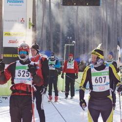 40. Tartu Maraton - Härmo Haljaste (525), Ain Inno (607)