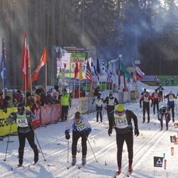 40. Tartu Maraton - Sten Weidebaum (630), Bruno Filippi (2540)